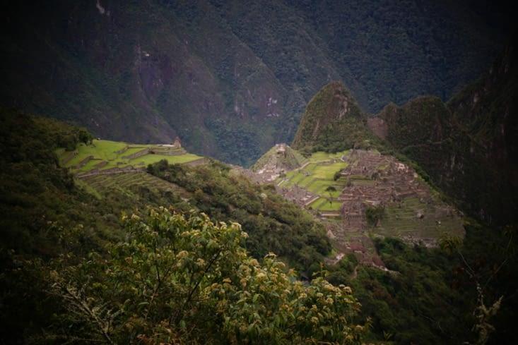 Machu Picchu en ligne de mire