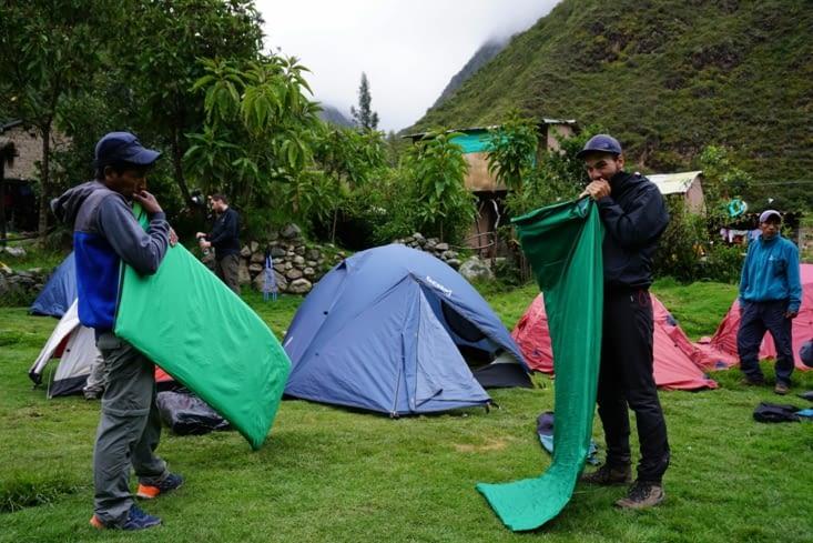 Prépa camping