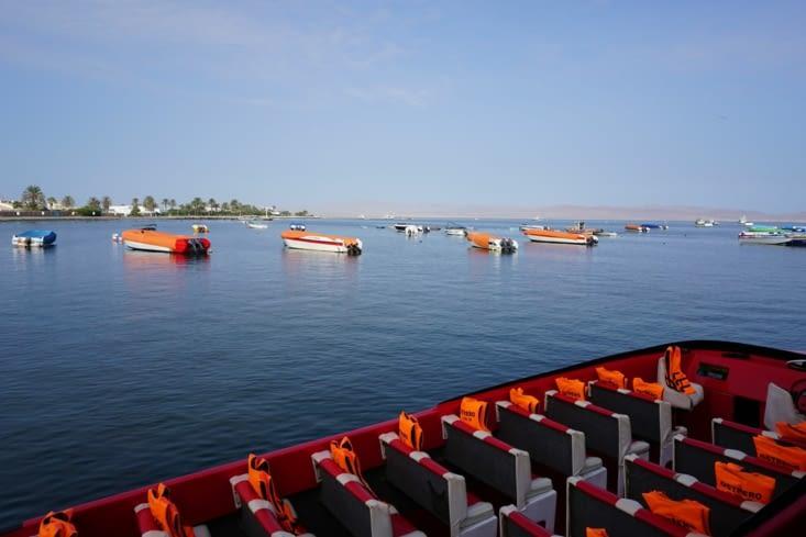 On embarque pour les îles Ballestas