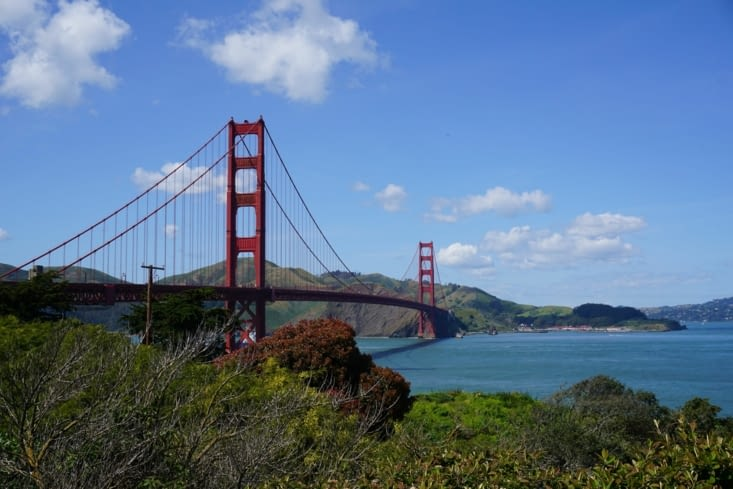 Golden Gate Bridge !