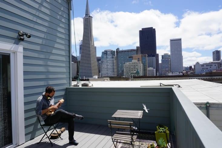 Rooftop chez Ju et Py