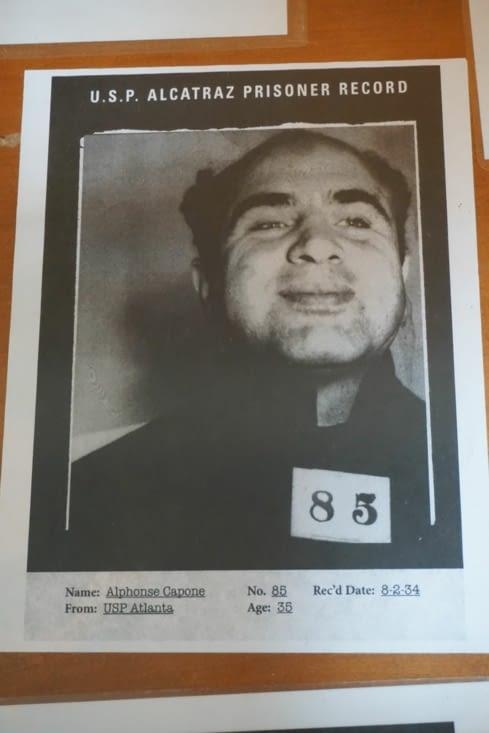 Une des célébrités d'Alcatraz !