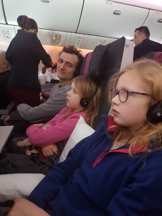 Et après plus de 16h d'avion...