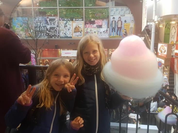 Les filles ont adoré cette rue