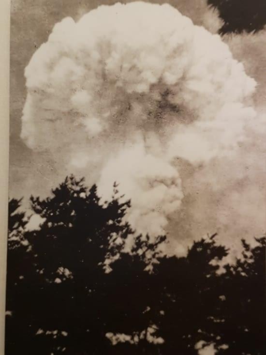 La 1ère bombe nucléaire.