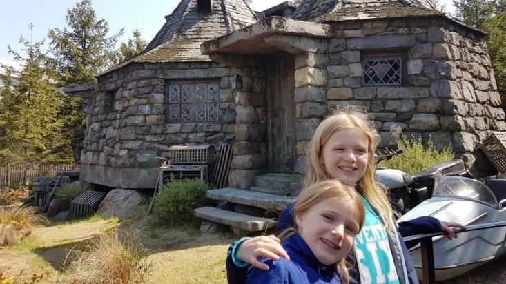 La maison d'Hagrid