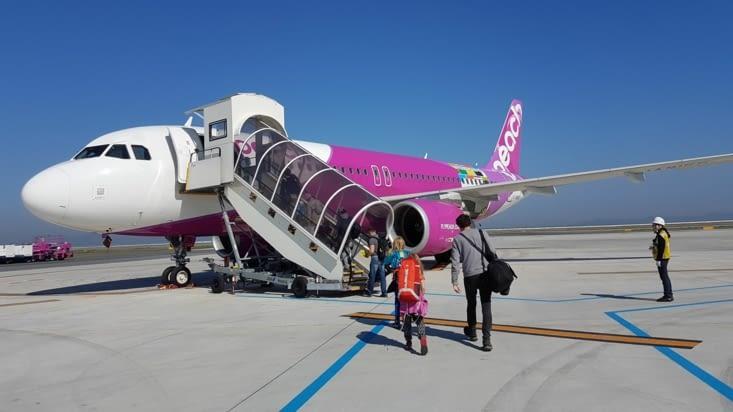 Ce n'est pas l'avion d'Hello Kitty...J'espère...