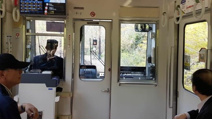Retours en tram à travers la forêt et les villages