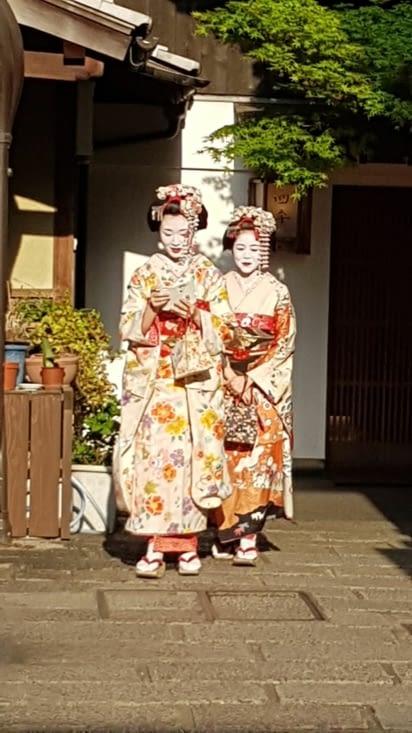 vraies geishas ?