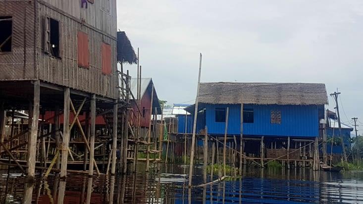 Des villages sur pilotis