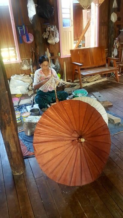 Fabrique d'ombrelles