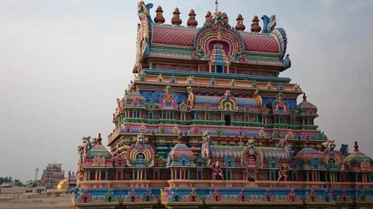 Ile de Srirangam. Sri Ranganathaswamy