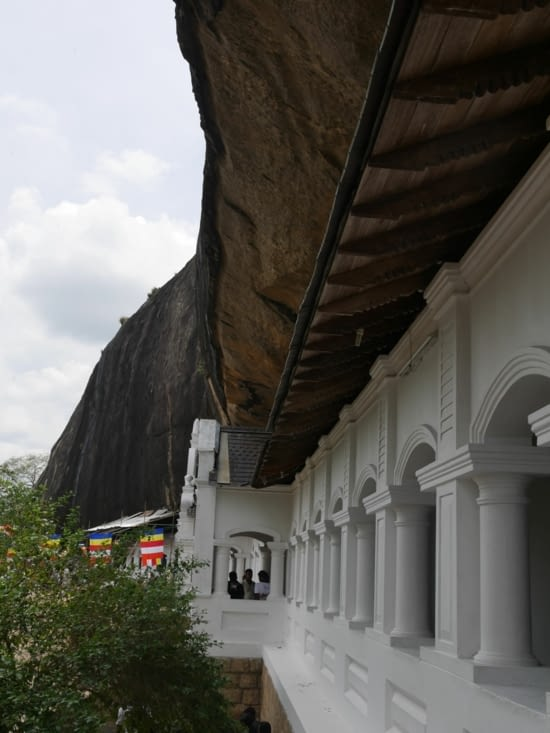 Le Royal Rock Temple de Dambulla