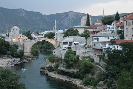 Mostar, chargée d'histoire