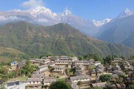 L'annapurna base camp south