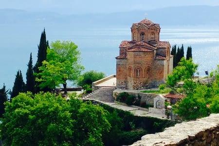 Statues et lacs macédoniens