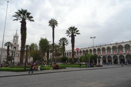 Court arrêt à Arequipa