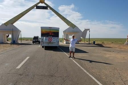 17 Juillet: Sainshand-Frontière Mongolie/Chine