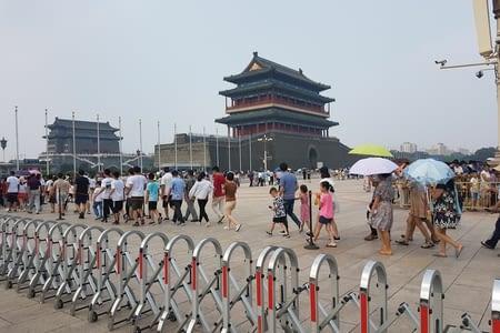 21 Juillet Visite de Pékin
