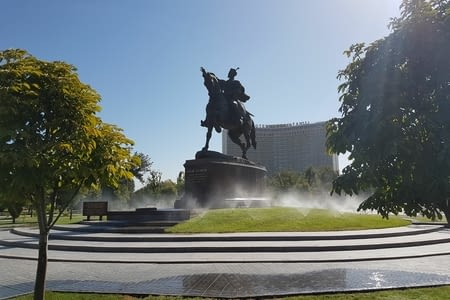 19 aout: Tachkent-Samarcande