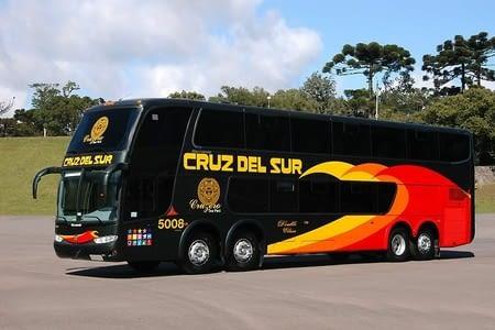 Transit en bus Lima -- cusco