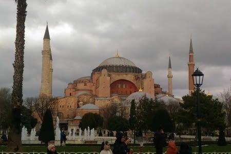 Escale de 21h a Istanbul en Turquie
