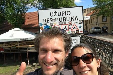 Visite de la république d'Uzupis