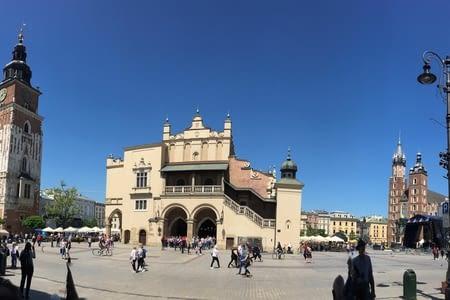 Premier jour de Repos à Cracovie