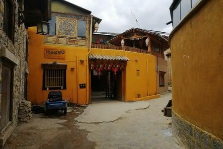Shangri-La, aux portes de l'Himalaya.