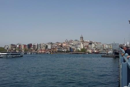 Istanbul : l'estuaire de la Corne d'Or