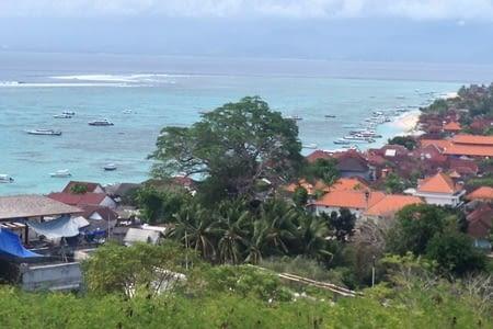 Nusa Lembongan, notre première étape les pieds dans l'eau