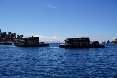 Lac Titicaca, from both sides