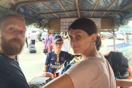 Arrivée au Cambodge